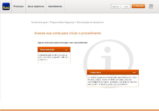 Tela de captação dos dados do Phishing